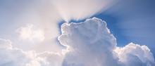 Sun Shining Through The Heaven...