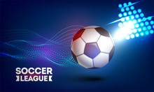 Soccer League Banner Or Poster...