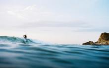 Surfer Take Off