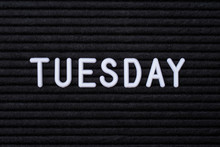 The Word TUESDAY