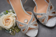 Sixpence Goodluck Charm In Wedding Shoes A Tradition For Good Luck