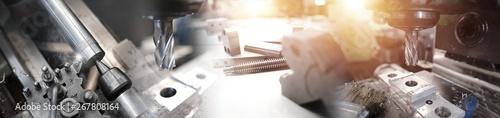 Obraz Mechanical Industry - fototapety do salonu