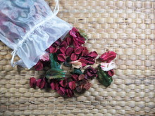 Dry Flowers Or Potpourri Are Fragrant On Table.
