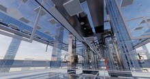 BIM Model Of Internal Utilites Of The Building