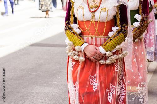 Fotografie, Obraz  CAGLIARI, ITALIA - MAGGIO 1, 2019: 363^ Processione Religiosa di Sant'Efisio - S