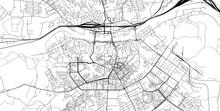 Urban Vector City Map Of Smole...