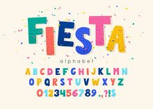 Vector Font And Alphabet. Abc,...