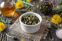 False Capers Made From Dandeli...