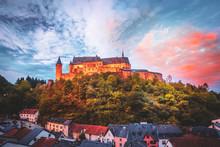 Castle Of Vianden, Luxembourg