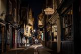 Fototapeta Uliczki - Medieval street of Shambles in York, England