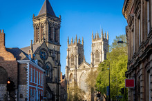 View Of York Minster In England