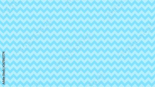 Valokuvatapetti serrated striped blue color for background, art line shape zig zag blue color, w