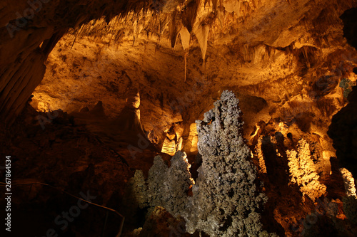 Carlsbad Cavern Cave Formations