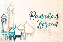 Ramadan Kareem Greeting Design...