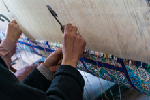 Kashmiri Handmade Persian Carpets Weaves Making Carpet Is A Native Weaving Craft Of Kashmir Skilled Weavers Highly Quality