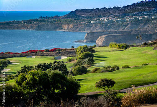 Photo  The Trump National Golf Course, in Rancho Palos Verdes along the Pacific coast of California, opened in 2006
