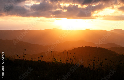 Photo Max Patch in North Carolina in the Appalachian Mountains