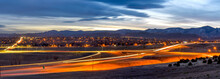 Sunset Highway - A Panoramic D...
