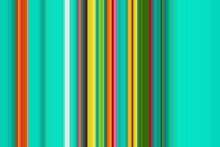 Multicolored Stripe Rainbow Line Striped. Retro.