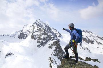 planinarenje u snježnim planinama
