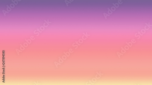 Photo Stands Candy pink Background gradient sunset sky sunrise, dusk blur.