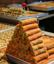Middle Eastern Sweets Baked On...