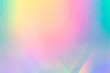 canvas print picture - colorful holographic paper with rainbow lights.