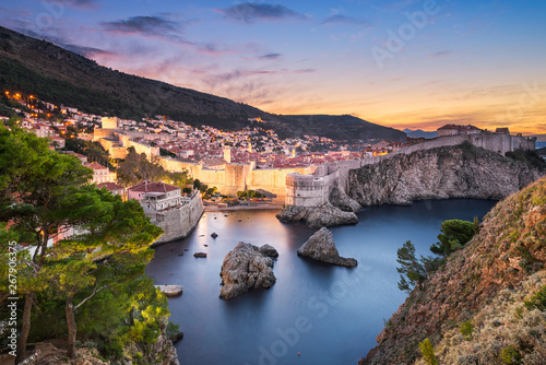 Old town of Dubrovnik, Croatia Canvas Print