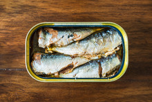 Canned Sardines In Olive Oil O...