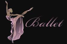 Ballet Dancer Fashion Banner T...