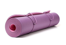 Yoga Mat On White Background