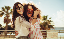 Female Friends Having Fun On Day Out