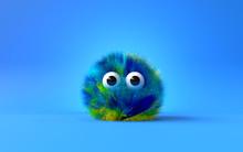 3d Cute Furry Monster,3d Carto...