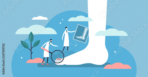 Fotografija Podiatrist vector illustration