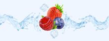 Fresh Cold Pure Strawberry, Bl...