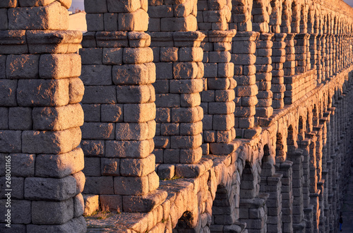 Spain, Castile and Leon, Segovia, Aqueduct of Segovia