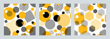 Three Geometric Seamless Patte...