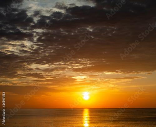 Sunrise over the Ocean in Virginia Beach