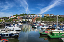 Bristol Marina On The Harbours...