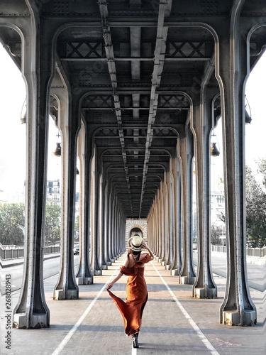 woman walking on hallway at daytime - 268028943