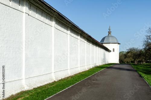 Wall Sven Holy Dormition monastery near Bryansk Wallpaper Mural
