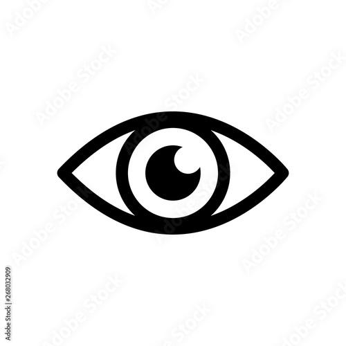 eye icon Poster Mural XXL