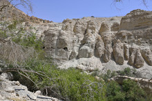 Wadi David à Ein Gedi Israel
