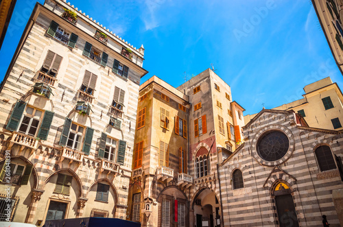 Church of San Matteo in Genoa, Liguria, Italy Fototapeta