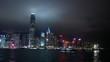 中華人民共和国、香港特別行政区/ビクトリア・ハーバー/夜景/フェリーより