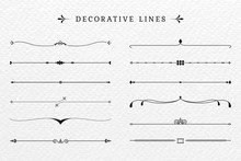 Vintage Decorative Lines Colle...