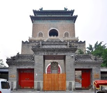 Beijing Bell Tower Was Built I...