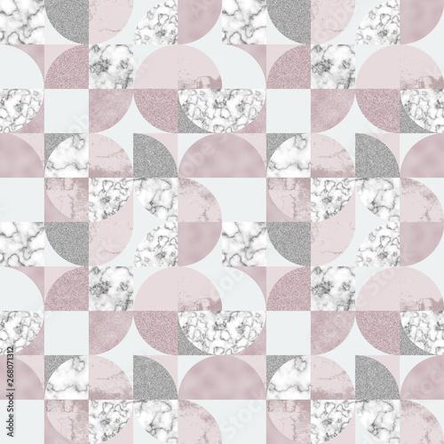 geometryczne-okragle-ksztalty-marmur-roz