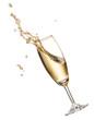 Leinwandbild Motiv champagne splash