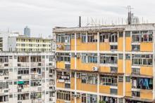 Public Housing Estate In Hong ...